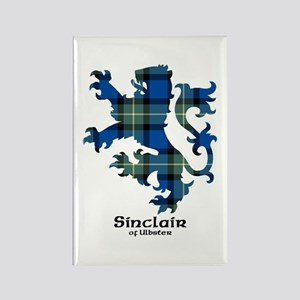 Lion-SinclairUlbster Rectangle Magnet