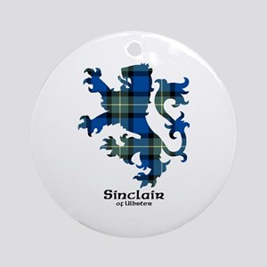 Lion-SinclairUlbster Round Ornament