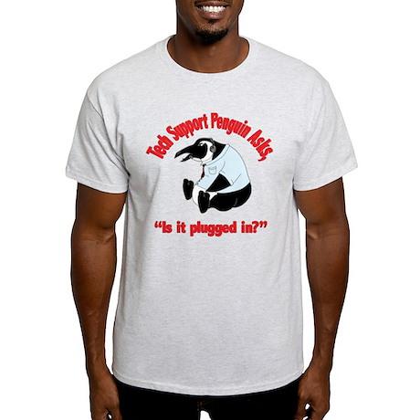 Tech Support Penguin - Restar Light T-Shirt