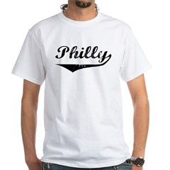Philly White T-Shirt