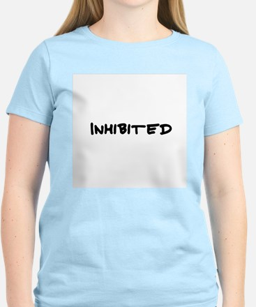 Inhibited Women's Pink T-Shirt