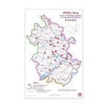 Anhui Orphanage Map Mini Print (v1.3) 11x17