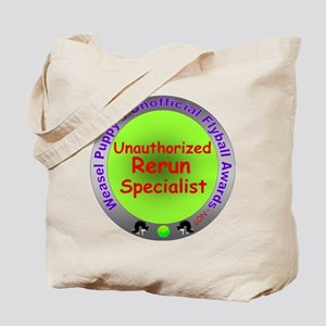 Unauthorized Rerun Spoof Flyball Award Tote Bag