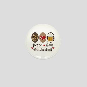 Peace Love Oktoberfest Mini Button