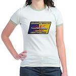 USS DANIEL WEBSTER Jr. Ringer T-Shirt