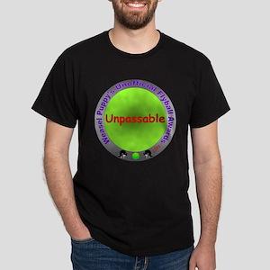 Unpassable Flyball Spoof Award Dark T-Shirt