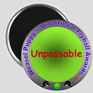 Unpassable Flyball Spoof Award Magnet