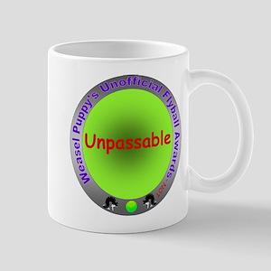 Unpassable Flyball Spoof Award Mug