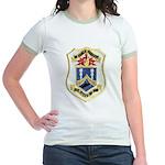 USS DYESS Jr. Ringer T-Shirt