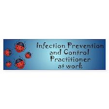 Infection Control Bumper Sticker