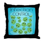 Infection Control Throw Pillow