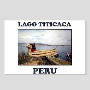 Lago Titicaca Peru Postcards (Package of 8)