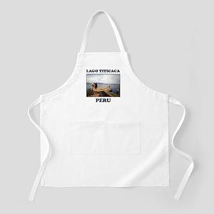 Lago Titicaca Peru BBQ Apron