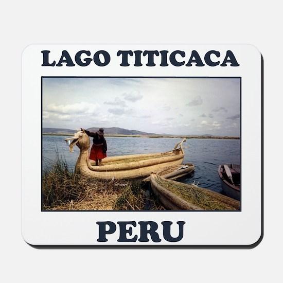 Lago Titicaca Peru Mousepad