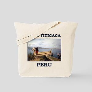Lago Titicaca Peru Tote Bag