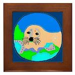 Seal Framed Tile
