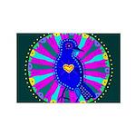 Pinyon Jay Rectangle Magnet (100 pack)