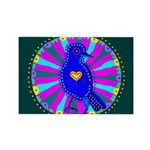 Pinyon Jay Rectangle Magnet (10 pack)