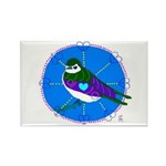 Violet-green Swallow Rectangle Magnet (10 pack)