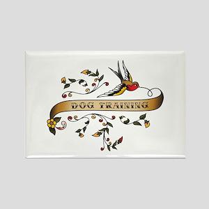Dog Training Scroll Rectangle Magnet