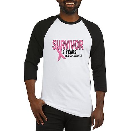 Breast Cancer Survivor 2 Years Baseball Jersey