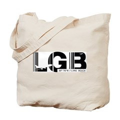 Long Beach Airport Code California LGB Tote Bag