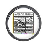 Wall Clock / Bingo card