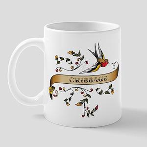 Cribbage Scroll Mug