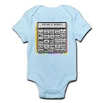Infant Creeper / Bingo card