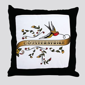 CounterStrike Scroll Throw Pillow