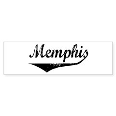 Memphis Bumper Bumper Sticker