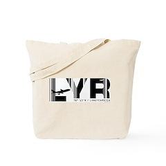 Longyearbyen Airport Code Norway LYR Tote Bag