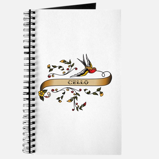 Cello Scroll Journal