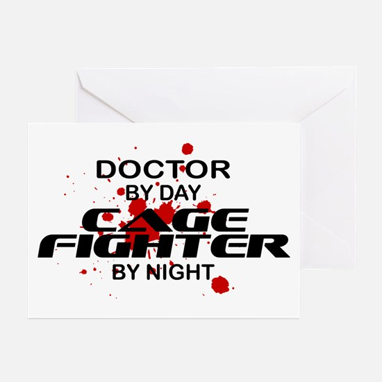 Doctor Cage Fighter by Night Greeting Cards (Pk of