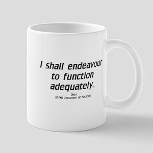 Function Adequately...Light Mug
