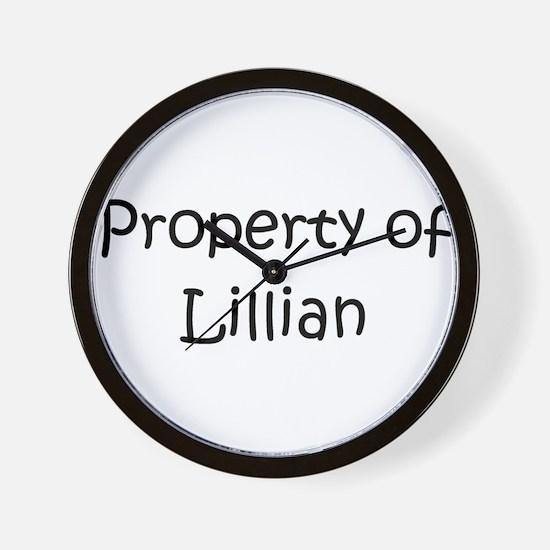 Unique Lillian Wall Clock