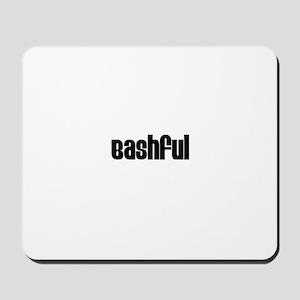 Bashful Mousepad