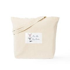 Big Sister Ballerina Tote Bag