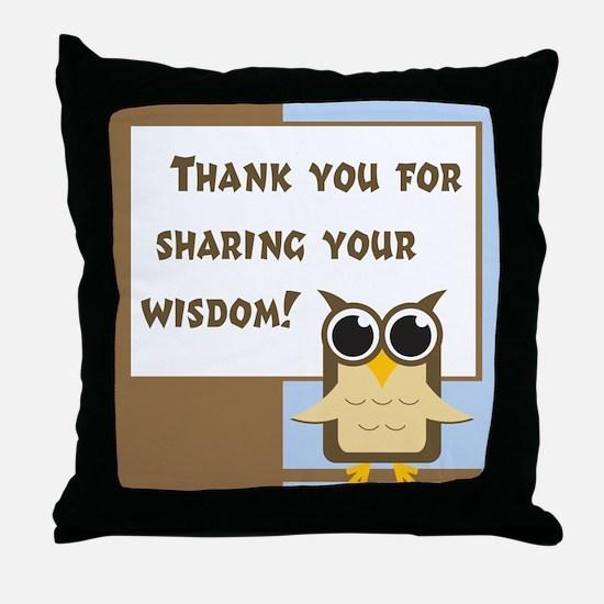 Teacher Appreciation Cards & Throw Pillow