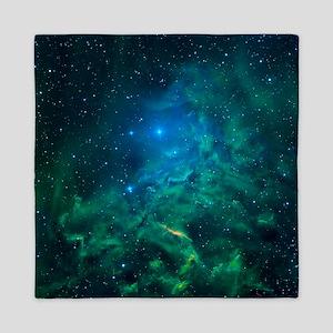 Flaming Star Nebula Queen Duvet