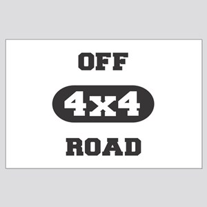 4x4 Off Road Large Poster