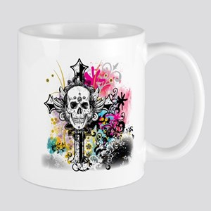 Skull Cross Color Mug