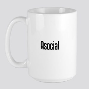 Asocial Large Mug