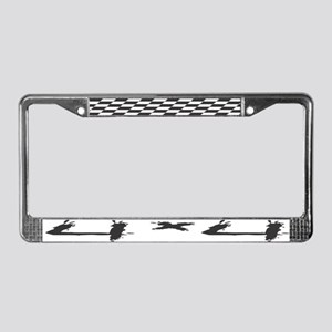 4x4 License Plate Frame