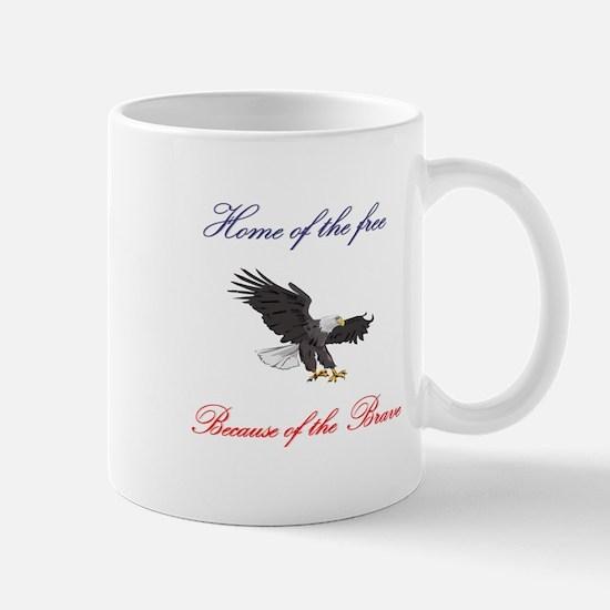 Home of the free... Mug