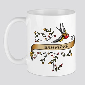 Bagpipes Scroll Mug