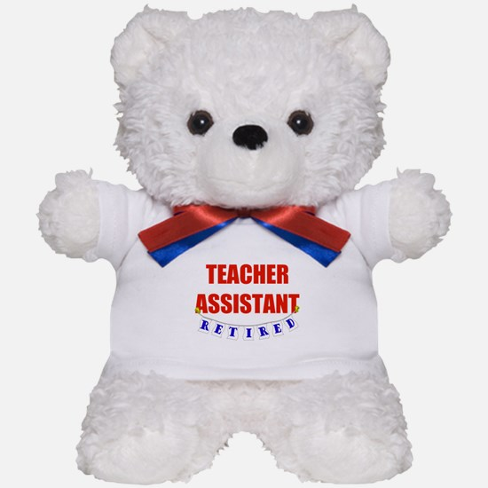 Retired Teacher Assistant Teddy Bear