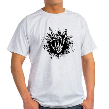 Rock in Bone Splat Light T-Shirt