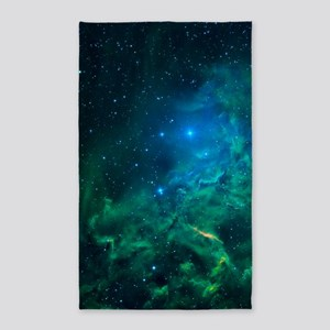 Flaming Star Nebula Area Rug