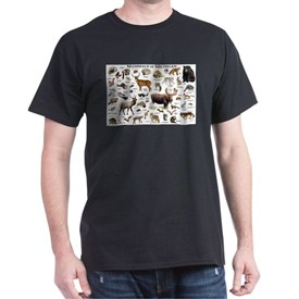Mammals of Michigan T-Shirt